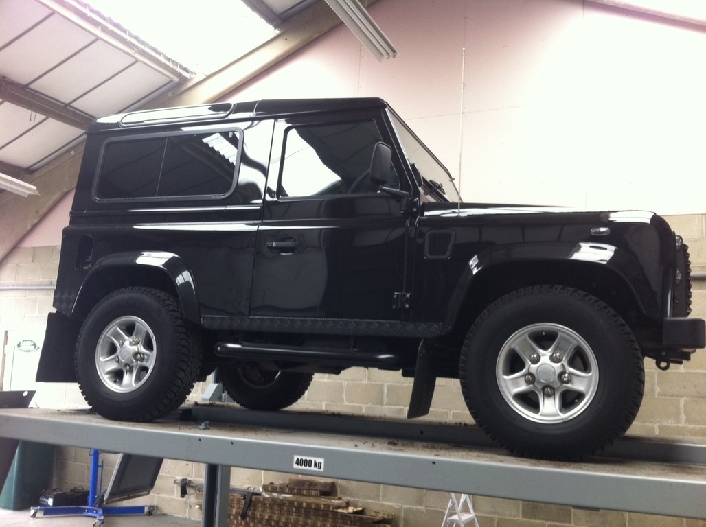 Nyton 4x4 Land Rover Servicing Near Chichester Bognor